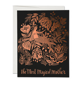 Red Cap Cards Most Magical Mother Greeting Card