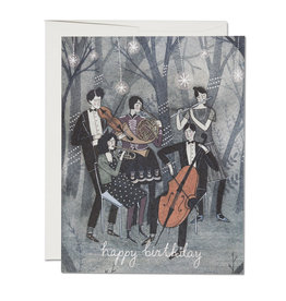 Happy Birthday Musicians Greeting Card
