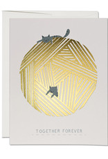 Together Forever Cats Greeting Card