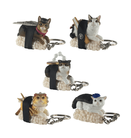 Sushi Cat Keychain Blind Box (Version 2)