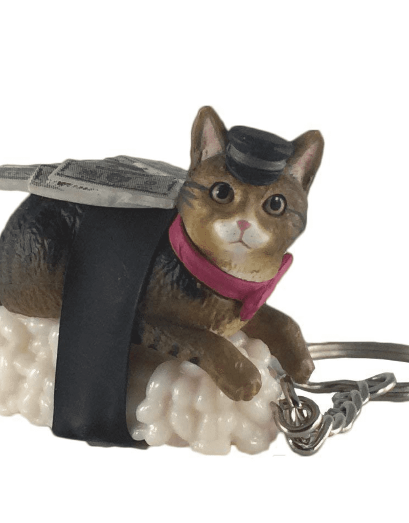 Clever Idiots Sushi Cat Keychain Blind Box (Version 2)