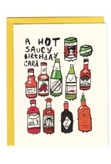 I Must Draw Paper Company Hot Saucy Birthday Greeting Card