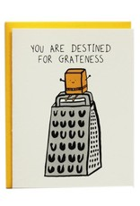 I Must Draw Paper Company Destined for Greatness Greeting Card