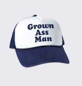 Headline Grown Ass Man Trucker Hat