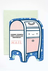 Ilootpaperie Cosmic Mailbox Birthday Greeting Card