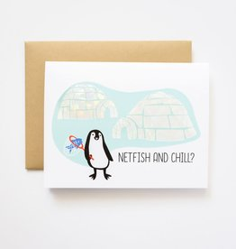 Ilootpaperie Netfish and Chill Greeting Card