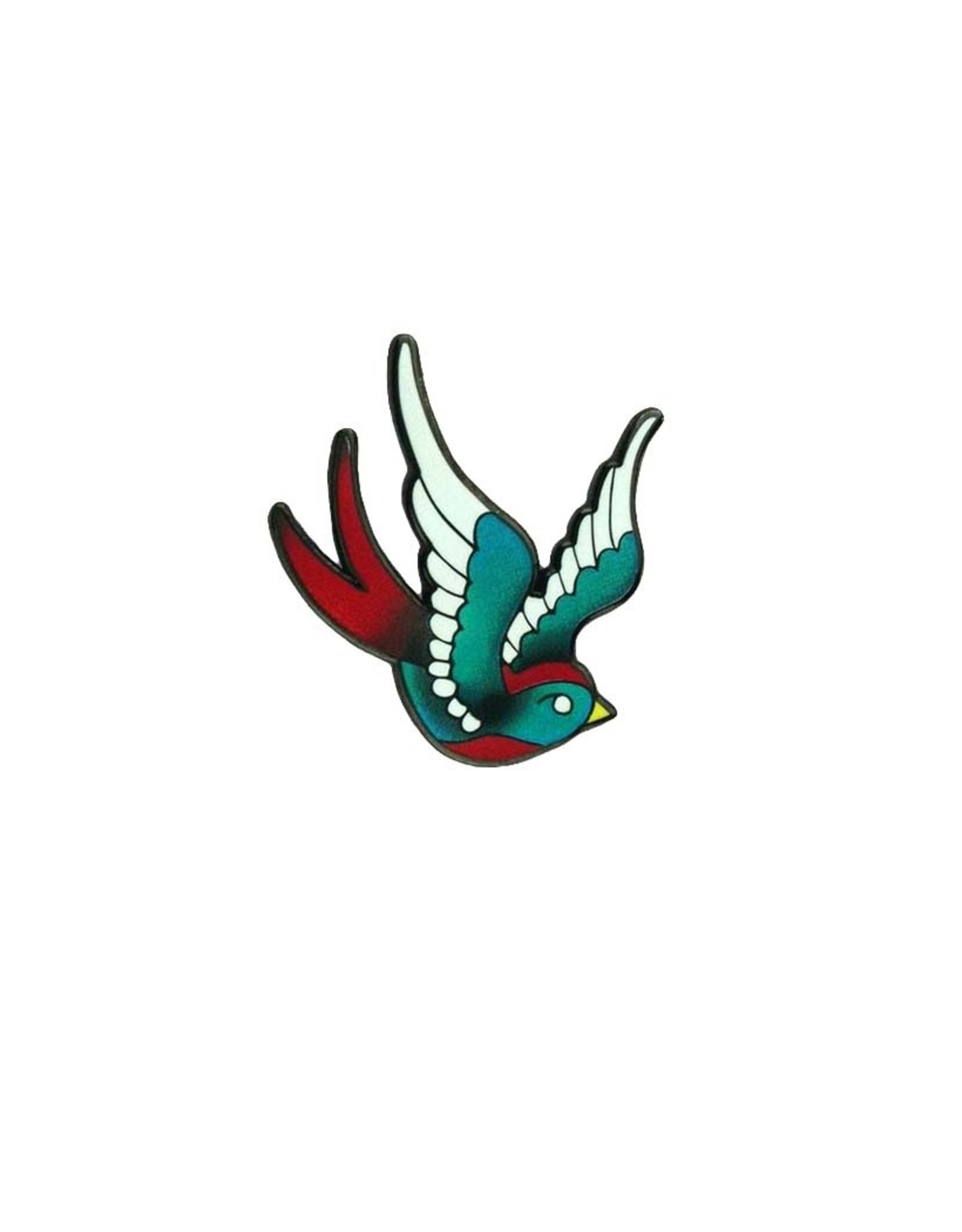 Tattoo Swallow Pin
