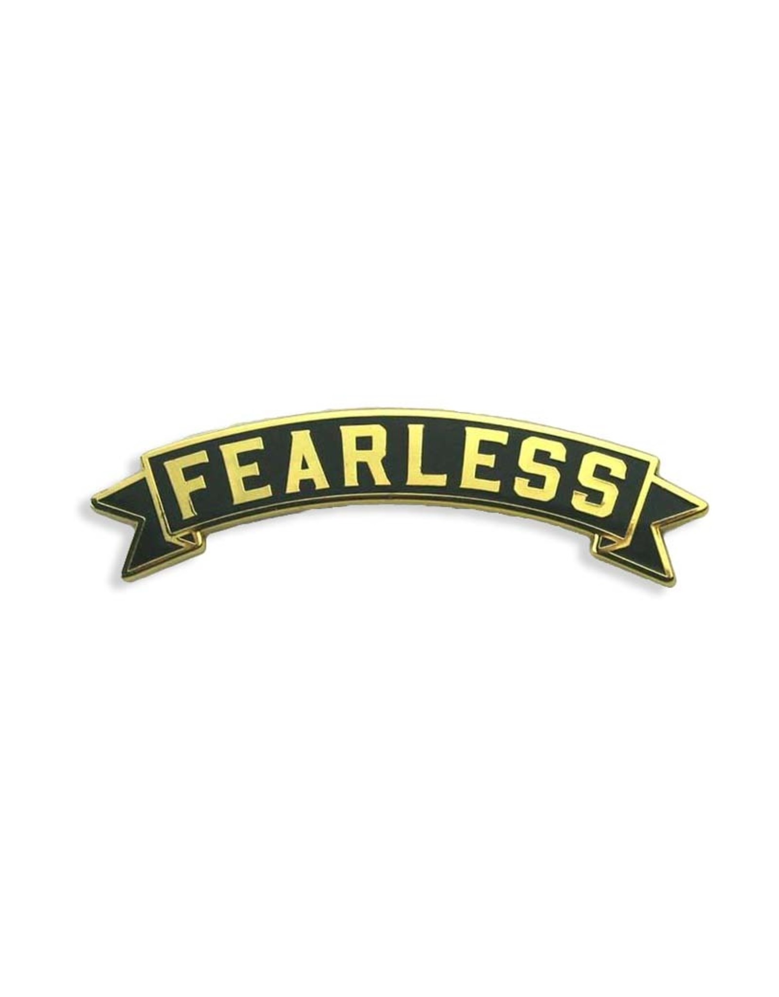 Fearless Banner Pin