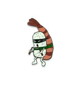 Sushi Ninja Shrimp Pin