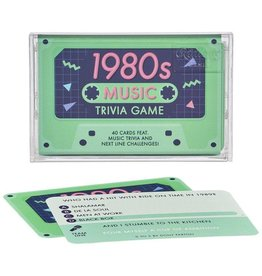 Wild and Wolf 1980s Music Trivia Cassette Quiz
