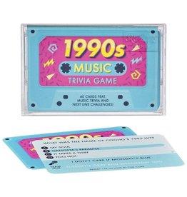1990s Music Trivia Cassette Quiz