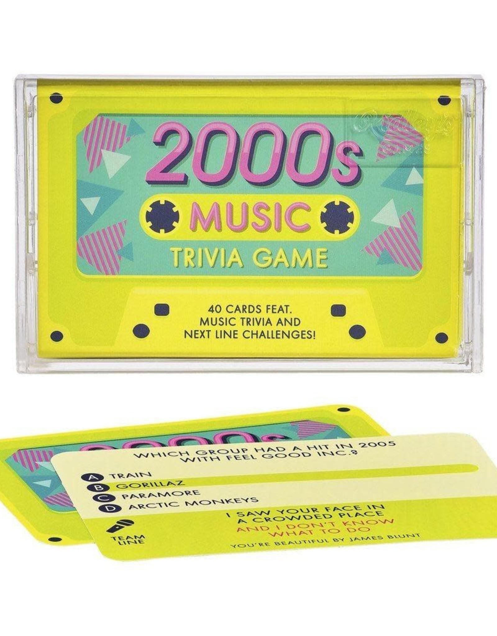 2000s Music Trivia Cassette Quiz