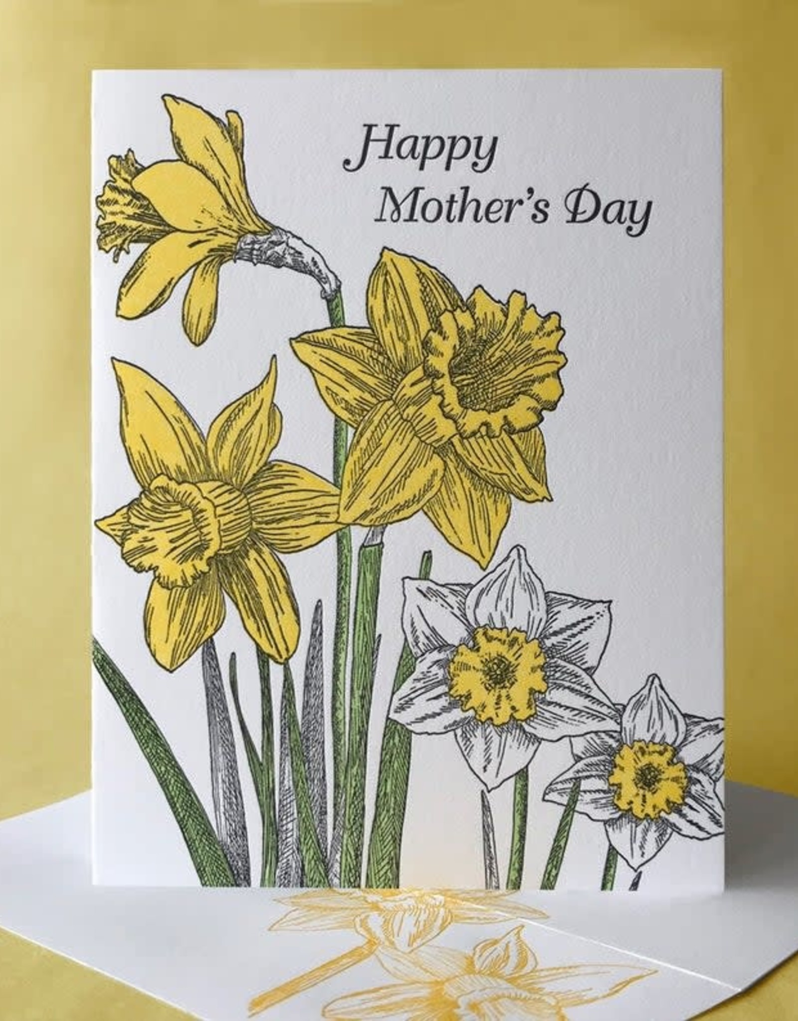 Happy Mother's Day (Daffodil) Greeting Card