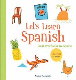 Chronicle Books Let's Learn Spanish: First Words for Everyone