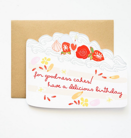 Ilootpaperie Delicious Birthday Greeting Card