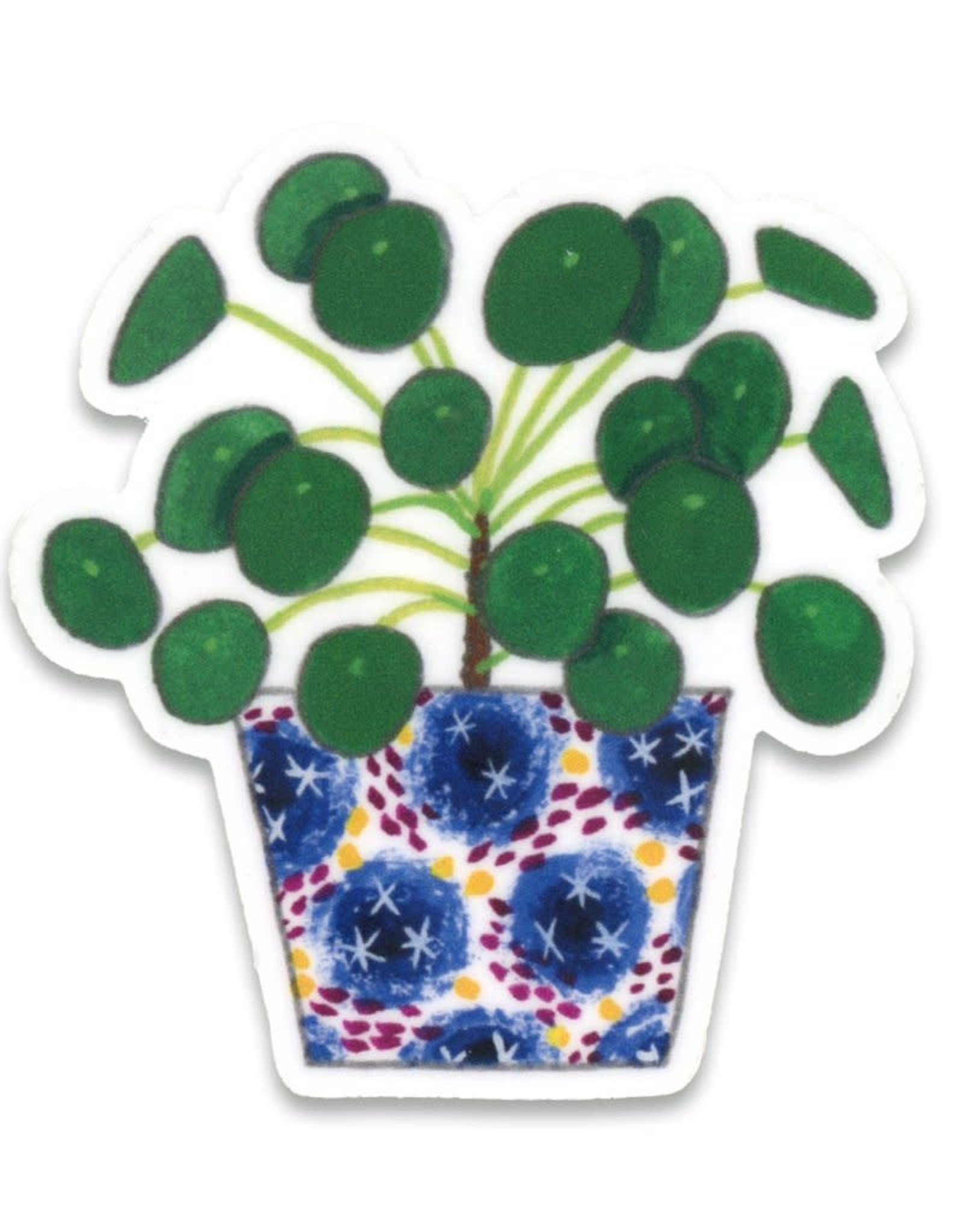 Pilea Plant Sticker