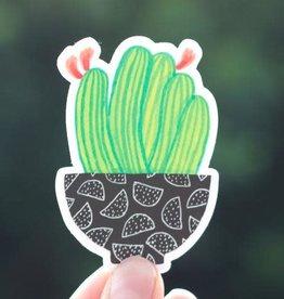 Cactus Bowl Sticker