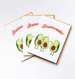 Ilootpaperie Bravocado Greeting Card
