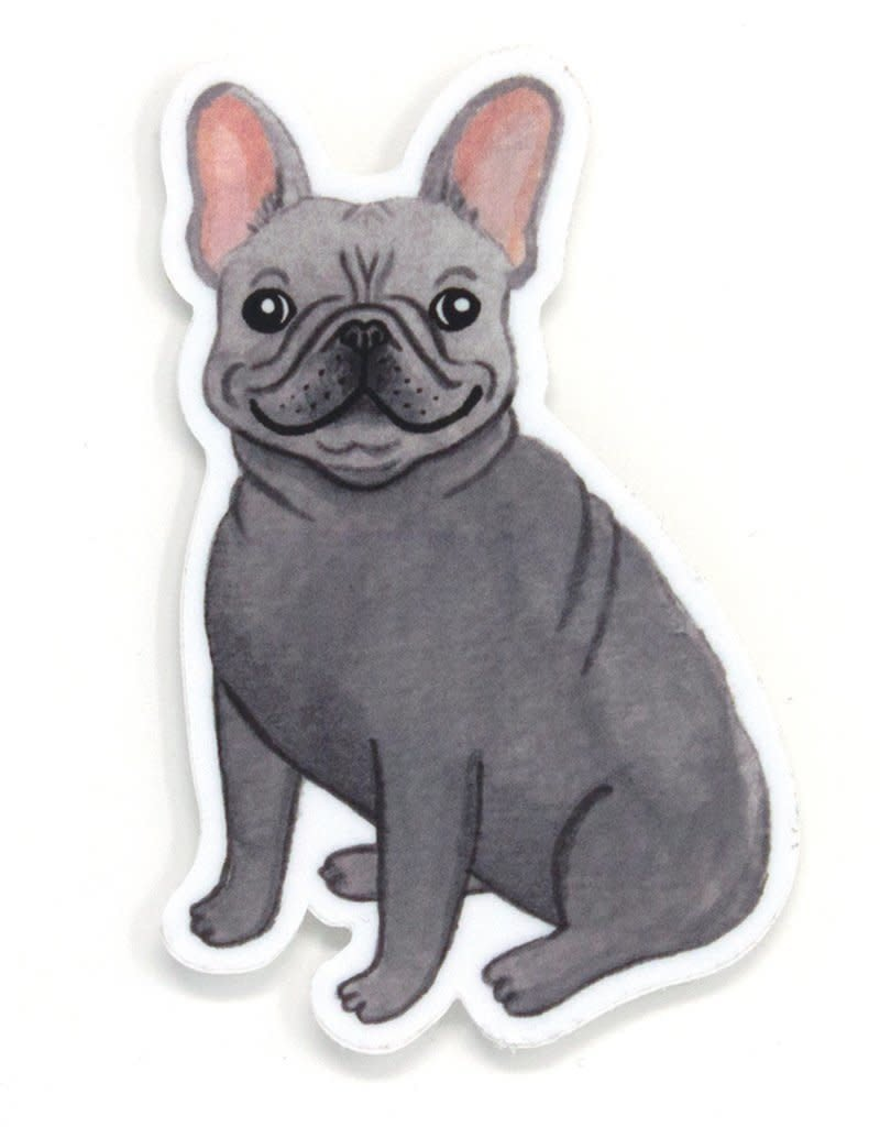 Cactus Club Paper Frenchie Sticker