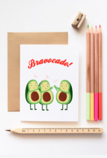 Ilootpaperie Bravocado Greeting Card