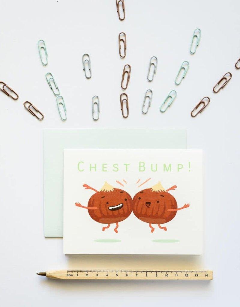 Ilootpaperie Chestbump Greeting Card