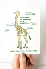 Giraffe Congrats Greeting Card