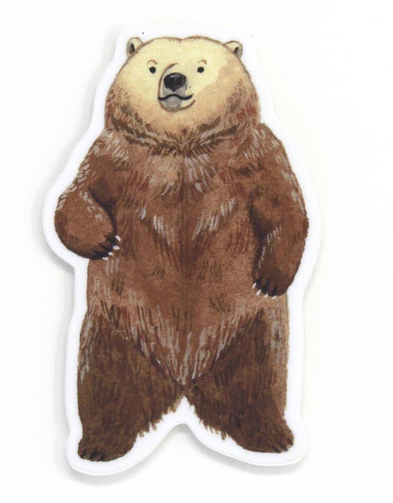 Cactus Club Paper Bear Sticker