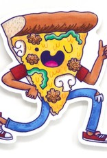 Cactus Club Paper Pizza Dude Sticker