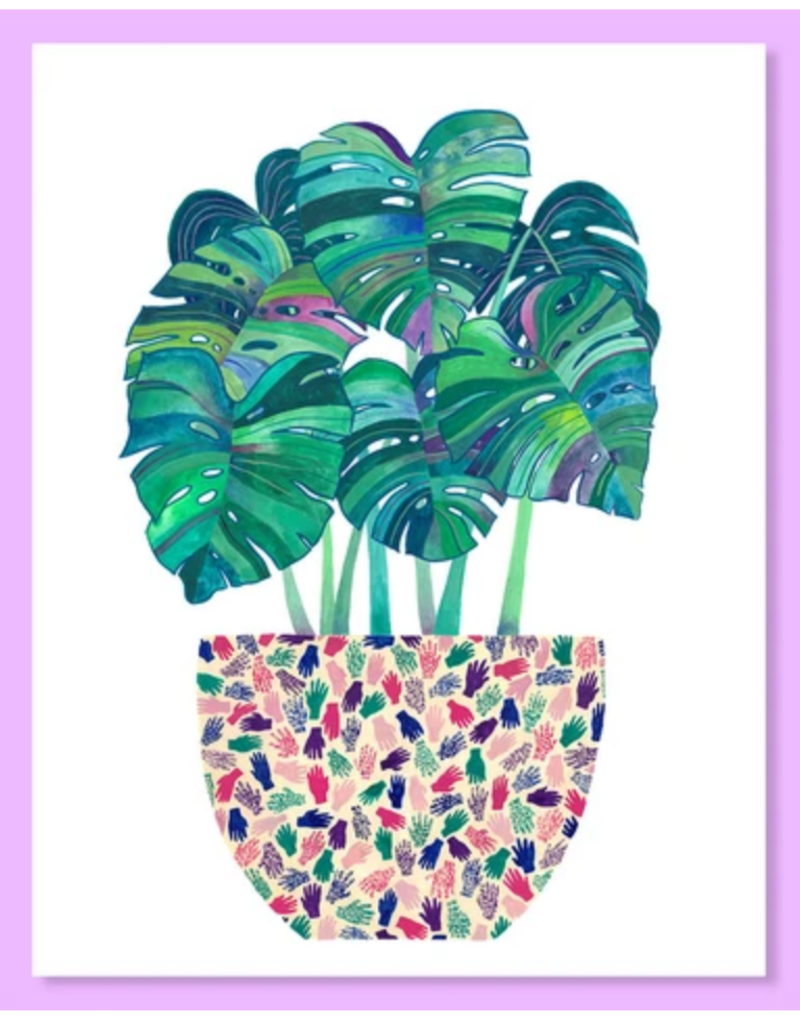 Cactus Club Paper Monstera Print