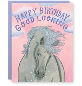 Cactus Club Paper Gorgeous Horse Birthday Greeting Card