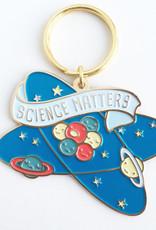 Science Matters Enamel Keychain