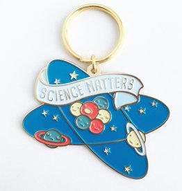 Ilootpaperie Science Matters Enamel Keychain