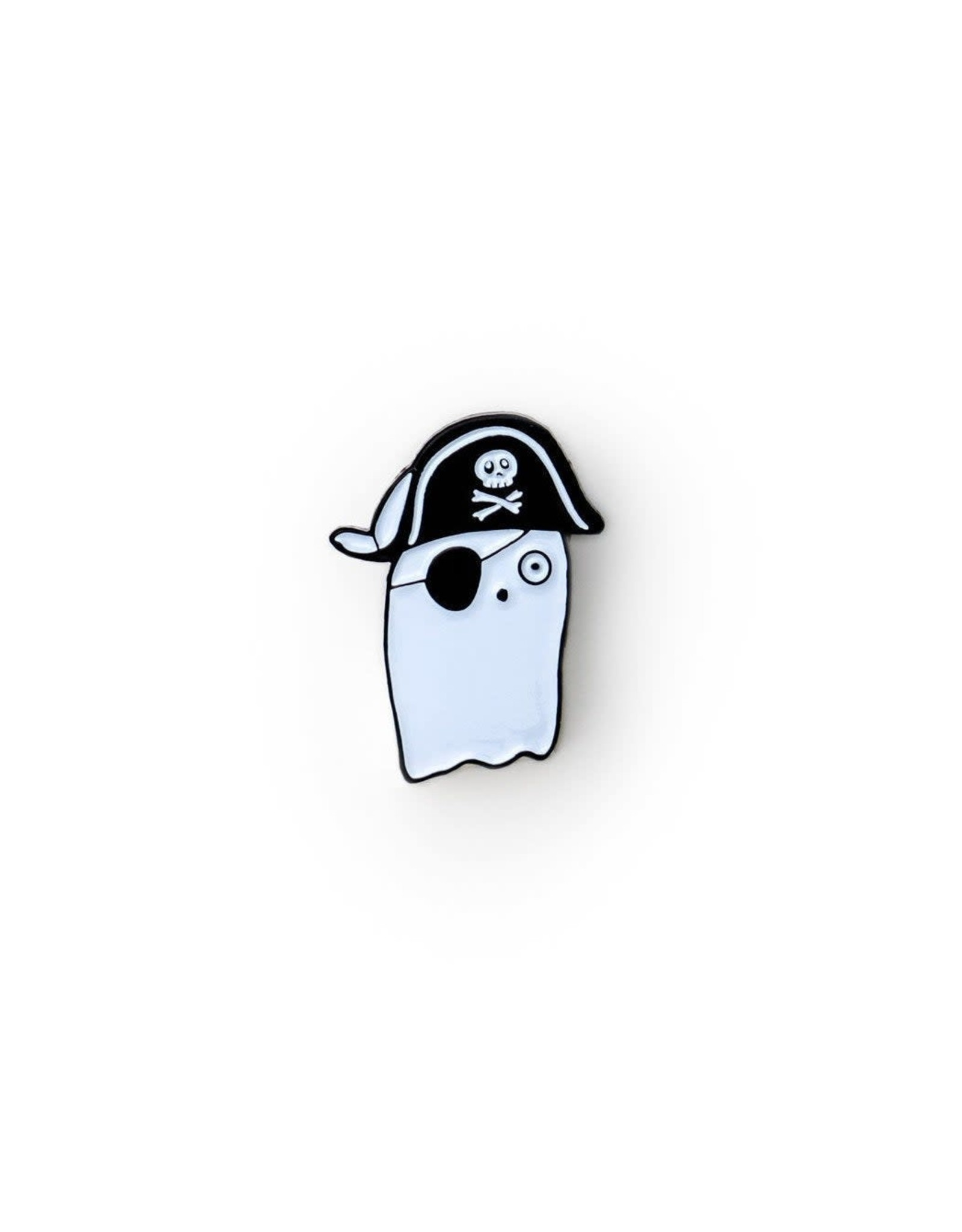 Ilootpaperie Pirate Booty (Ghost) Enamel Pin