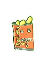 Salty Chips Enamel Pin