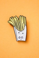 Fry Guy Enamel Pin