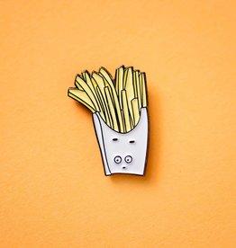 Fry Guy Enamel Pin
