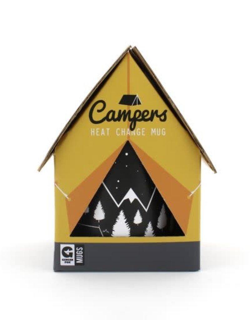 Ginger Fox Campers Heat Change Mug