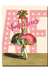 Fabulous AF Dancer Greeting Card