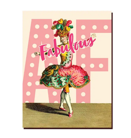 Offensive + Delightful Fabulous AF Greeting Card