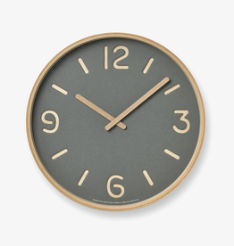 Thomson Paper Clock, Grey