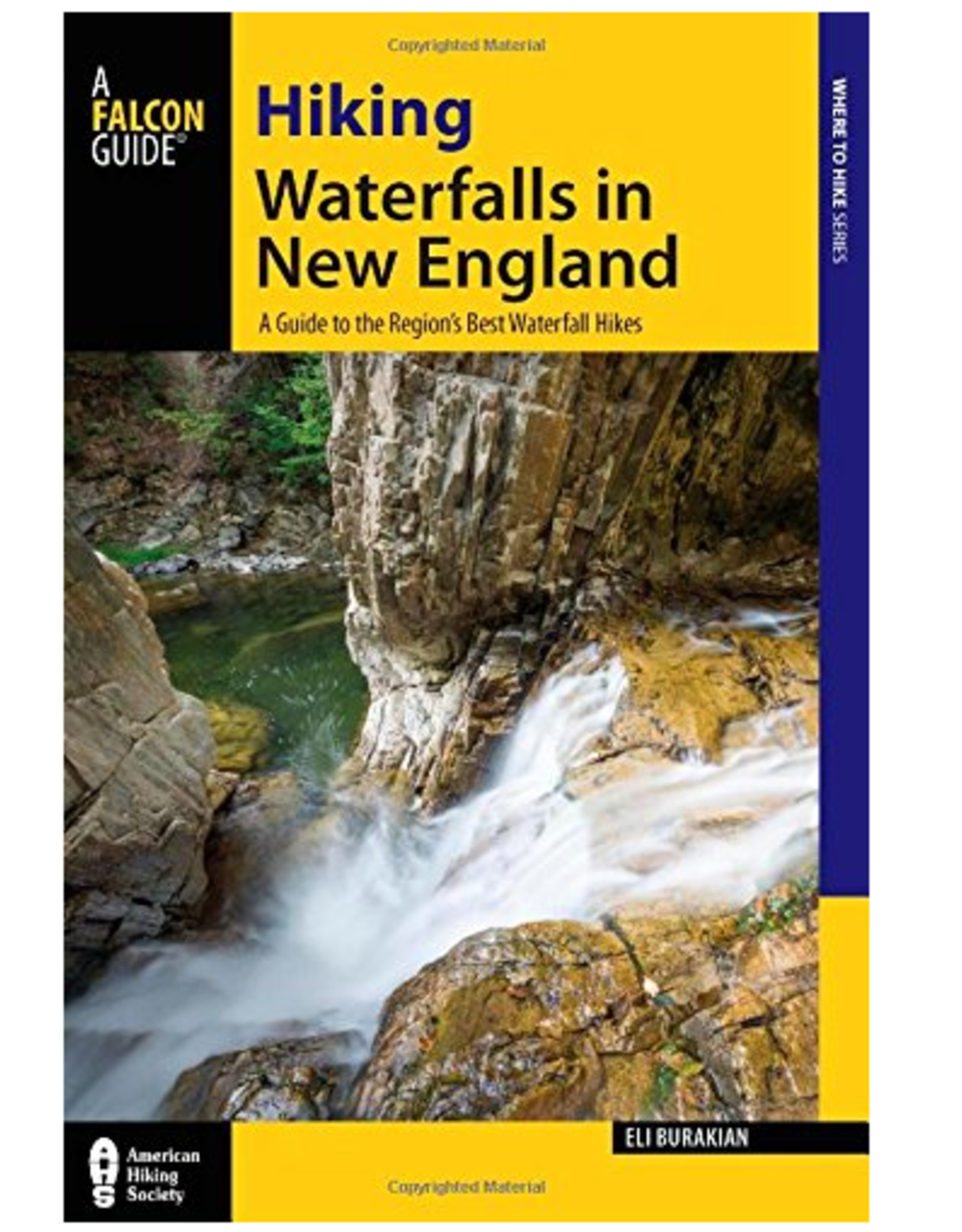 Falcon Guides Hiking Waterfalls in New England