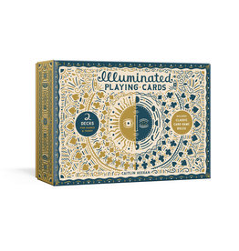 Clarkson Potter Illuminated Playing Cards