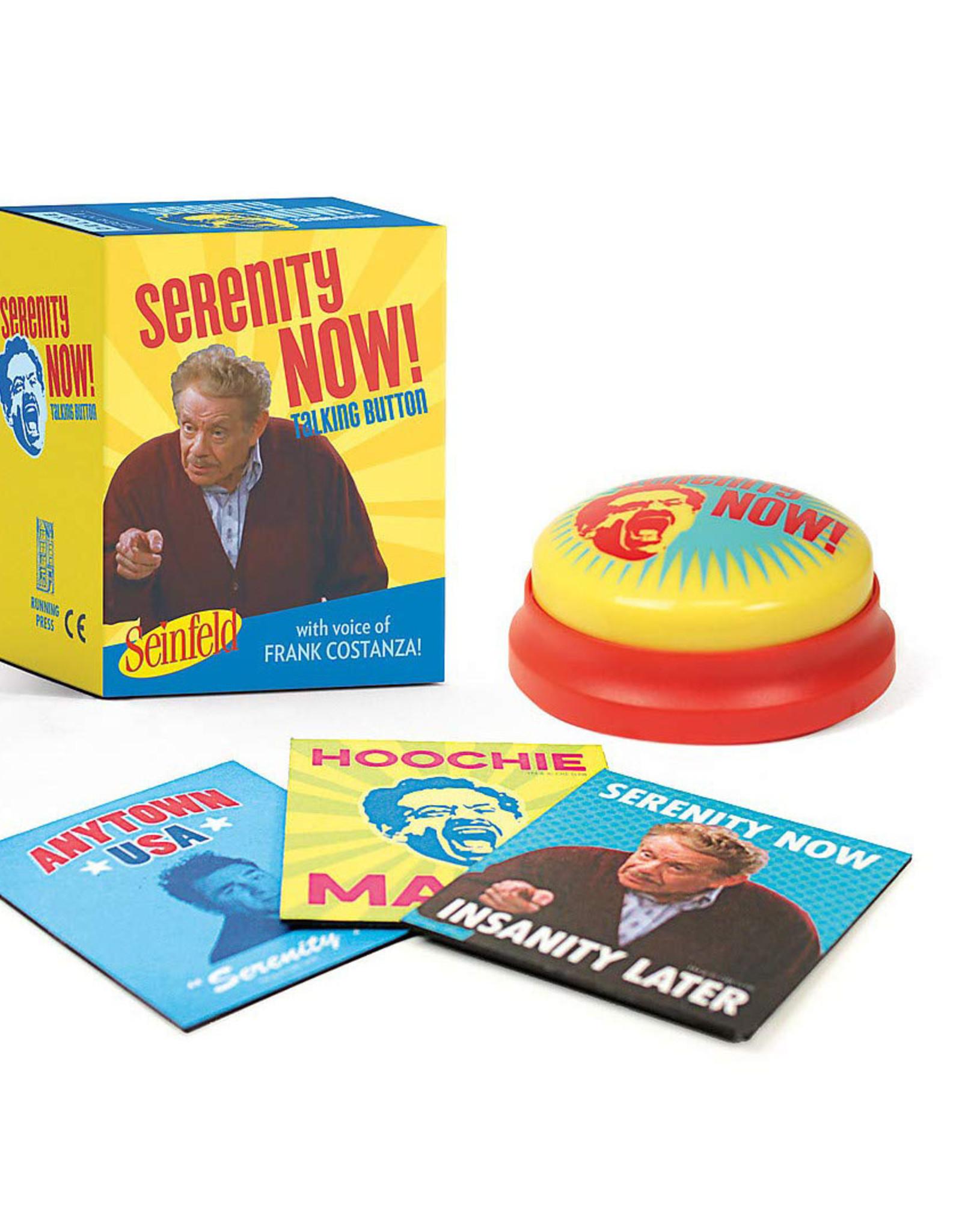Serenity Now! Talking Button (Seinfeld)