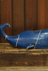 HomArt Reclaimed Metal Whale