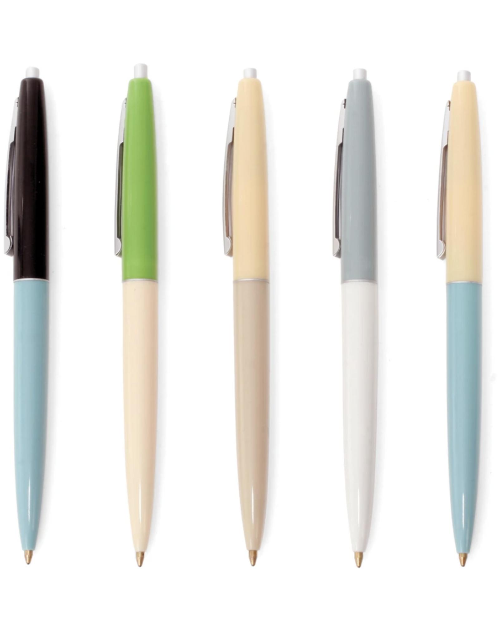 Retro Pens Set of 5