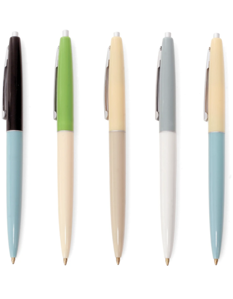 Kikkerland Retro Pens Set of 5
