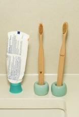 Nudies Bamboo Toothbrush Set