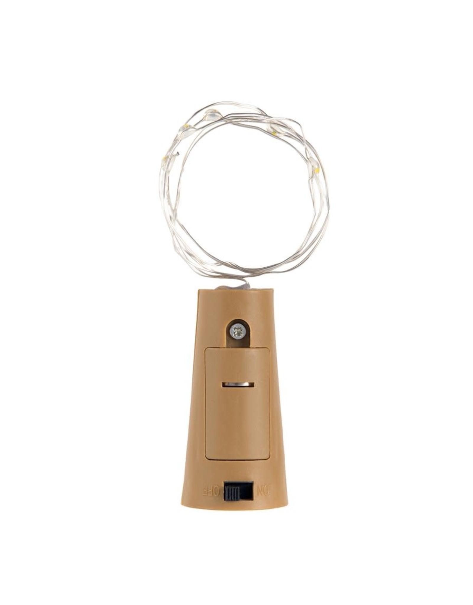 Kikkerland Bottle Top String Light