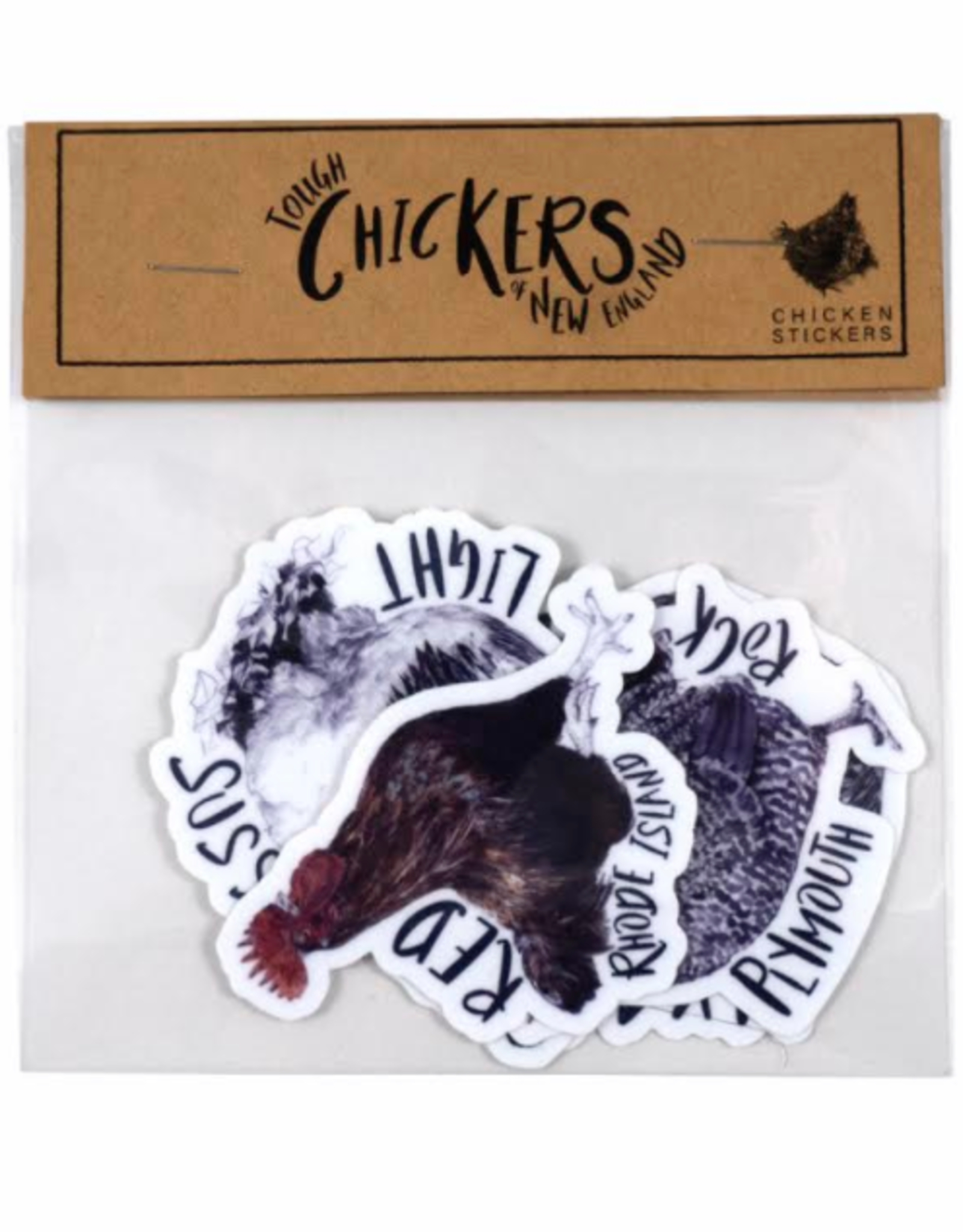 Tough Chicks of New England Sticker Pack