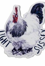 Embee Studio Light Sussex Hen Sticker